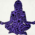 Meditate Ultraviolet by Ricky Barnard