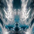 Meditating Cloud - 1 by Artistic Mystic