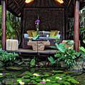 Meditation Pavilion by Endre Balogh
