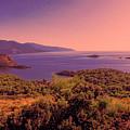 Mediterranean Sunset Glow by Phyllis Taylor