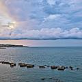 Mediterranean View II by Madeline Ellis