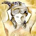 Meditrina Goddess Of Wine by Brenda Owen