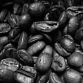 Medium Roast In Black And White by Mary Ellen Frazee