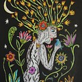 Medusa De Flores by Betty Wick