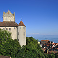Meersburg Castle - Lake Constance Or Bodensee - Germany by Matthias Hauser