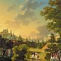 Meeting Between Napoleon I And Ferdinand IIi by Hippolyte Lecomte