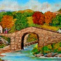 Meeting On The Old Bridge by Konstantinos Charalampopoulos