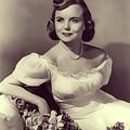 Meg Randall, Vintage Actress by John Springfield