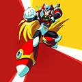 Mega Man X by Dorothy Binder