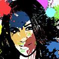 Meghan Markle Pop Art by Ricky Barnard