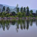 Meitan County Reflection - Guizhou, China by Rick Shea