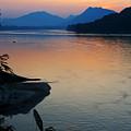 Mekong River Sunset by Bill Bachmann - Printscapes