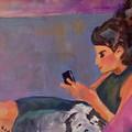 Mel And Peek A Boo by Charme Curtin