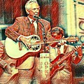 Mel Tillis Famous Country Music Entertainer  by Pd