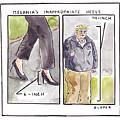Melania's Inappropriate Heels by Brendan Loper