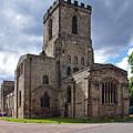 Melbourne Parish Church In Derbyshire by Rod Johnson