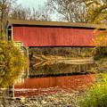 Melcher/klondyke/marion Covered Bridge by Jack R Perry