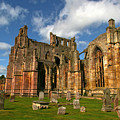 Melrose Abbey by Robert Och