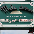 Mel's Drive-in Diner Sign In San Francisco - 5d18015 by Wingsdomain Art and Photography