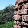 Melting Brick Wall by Flo DiBona
