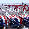 Memorial Day Remembrance At The Beach by Mariola Bitner