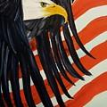 Memorial Eagle             28 by Cheryl Nancy Ann Gordon