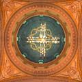 Memorial Presbyterian Church Ceiling by Linda Covino