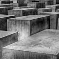 Memorial To The Murdered Jews Of Europe by Teresa Zieba