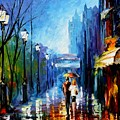 Memories Of Paris by Leonid Afremov