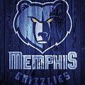 Memphis Grizzlies Barn Door by Dan Sproul
