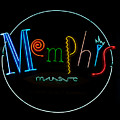 Memphis Neon Sign by Mindy Sommers