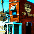 Memphis Sun Studio Birthplace Of Rock And Roll 20160215sketch by Wingsdomain Art and Photography