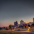 Memphis Sunrise 1 - Cityscape by Barry Jones