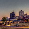 Memphis Sunrise 2 - Cityscape by Barry Jones