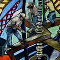 Men At Work by Angelina Marino