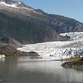 Mendenhall Glacier Alaska by Janet  Hall