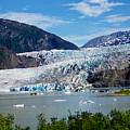 Mendenhall Glacier by Judy Wanamaker