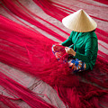 Mending The Nets by Son Truong