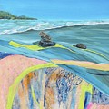 mendocino coast II by Gabriele Schwibach