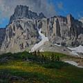 Mendota Peak by Lanny Grant
