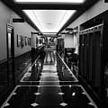 Menger Hotel Hall by Robert A Jones