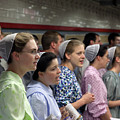 Mennonite Chorus  Union Square Station Nyc 5 21 11 1 by Robert Ullmann