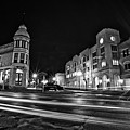 Menomonee And Underwood At Night by CJ Schmit