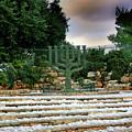 Menorah At Knesset by Nir Ben-Yosef
