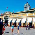 Mercado Centra In Santiago-chile by Ruth Hager