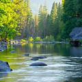 Merced River by Idaho Scenic Images Linda Lantzy