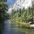 Merced River In Yosemite by Derek Ryan Jensen