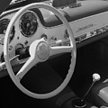 Mercedes 300sl Dashboard by Neil Zimmerman
