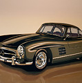 Mercedes Benz 300 Sl 1954 Painting by Paul Meijering