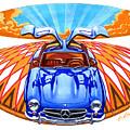 Mercedes-benz 300 Slk by Andre Elista